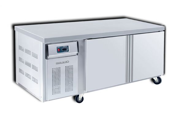 Counter Chiller 2 Door 1500 Front View  sc 1 st  Semak Australia & CC1500-S Counter Chiller 2 Door 1500 - Counter Range - Refrigeration ...
