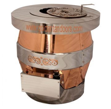 Golden Tandoors GT-810AG (Pictured) Gas Tandoor Oven