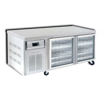 2 Door 1500 Bar Chiller Front View