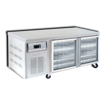 2 Door 1800 Bar Chiller Front View