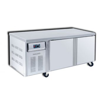 Counter Chiller 2 Door 1800 Front View