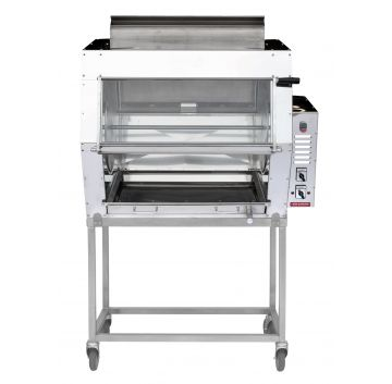 24G Gas Rotisserie with Trolley Front View
