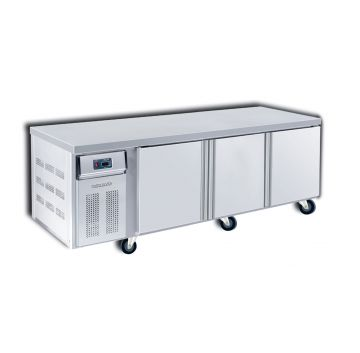 Counter Chiller 3 Door 2100 Front View