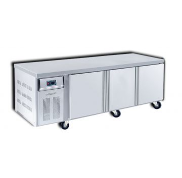 Counter Chiller 3 Door 2400 Front View