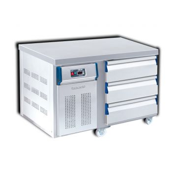 3 Drawer Counter Chiller Front View
