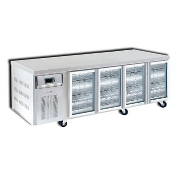 4 Door 2400 Bar Chiller Front View
