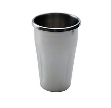 60201 Hanging Stainless Steel Cup Front View