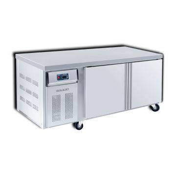 Counter Freezer 2 Door 1500 Front View