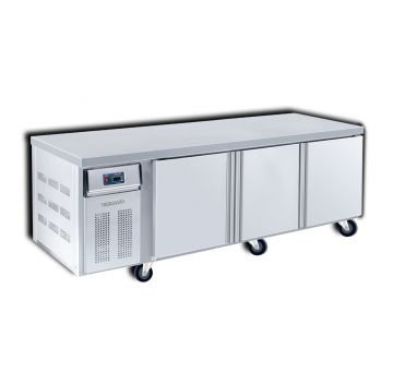 Counter Freezer 3 Door 2100 Front View