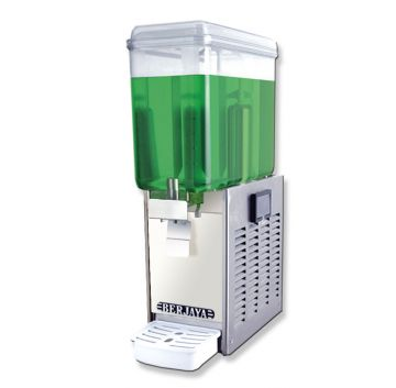 Juice Dispenser Single Bowl Front View