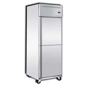 Upright Freezer 2 Door Front View