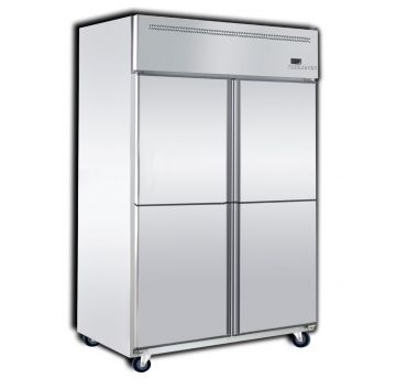 Upright Freezer 4 Door Front View
