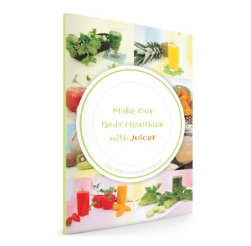Vitajuice Recipe Book Cover