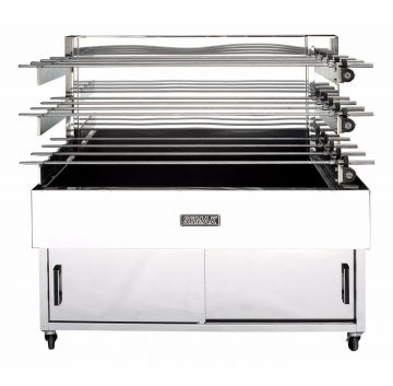 M28C 3 Tier Charcoal Rotisserie