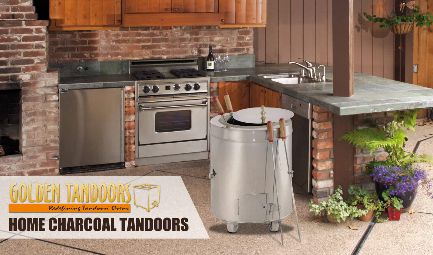 Golden Tandoors Home Tandoor